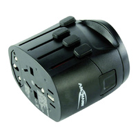 Ansmann Universal All In One 3 Pin Travel Adaptor