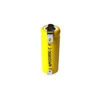 No Name 300mah 2/3AAA Ni-Cd Battery With Tabs