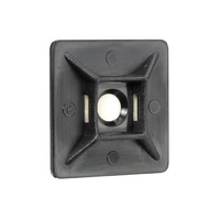 Cable Tie Mounts 28mm Black UV Weather Resistant (25 pk)