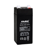 4v 4ahr Specialised AGM Lead Acid Battery