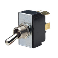Heavy Duty Toggle Switch DPST On/Off