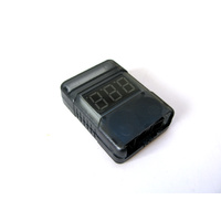 Low Voltage Alarm and Voltmeter 2s-8s (In Case)