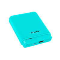 Adata PV150 10,000mah Compact Power Bank and Backup Battery - Blue