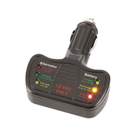 Cigarette Lighter Real Time Battery and Alternator Monitor