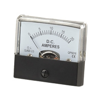 Analogue Ammeter (DC) 0-20 Amps (No Shunt Needed)