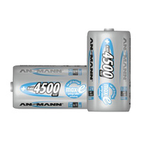 Ansmann C Size 4500mah NiMH Rechargeable Battery (2 Pack)