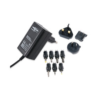 Ansmann 3-12v 600mah Regulated Switch Mode Power Supply with World Adaptors