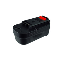 Black and Decker 18v 3.0ah Slot-In Ni-MH Compatible Power Tool Battery