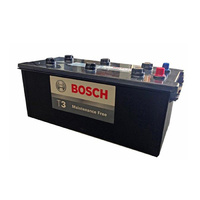 Bosch T3 Premium DIN165 Automotive 4x4 Battery 1100cca