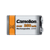 Camelion 9v 250mah NiMH Rechargeable Battery