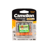 Camelion Rechargeable 2500mah AA Battery (4 Pack)