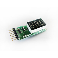 Battery Voltage Meter and Cell Checker | 2-6s
