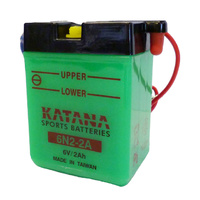 Katana 6N2-2A Motorcycle Battery