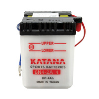 Katana 6N4-2A-4 Motorcycle Battery