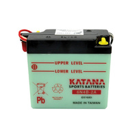 Katana 6N4B-2A Motorcycle Battery