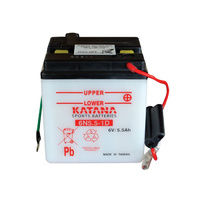 Katana 6N5.5-1D Motorcycle Battery