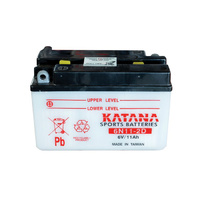 Katana 6N11-2D Motorcycle Battery