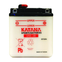 Katana 6N6-3B Motorcycle Battery