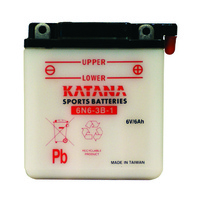 Katana 6N6-3B-1 Motorcycle Battery