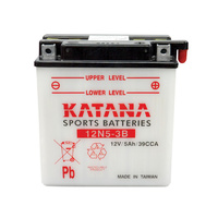 Katana 12N5-3B Motorcycle Battery