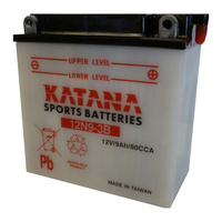 Katana 12N9-3B Motorcycle Battery