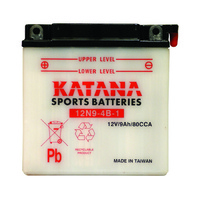Katana 12N9-4B-1 Motorcycle Battery