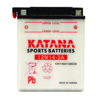 Katana 12N14-3A Motorcycle Battery