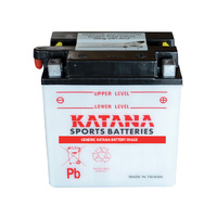 Katana YB10L-B Motorcycle Battery