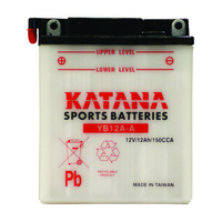 Katana YB12A-A Motorcycle Battery