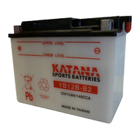 Katana YB12B-B2 Motorcycle Battery