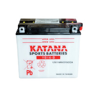 Katana YB16-B Motorcycle Battery