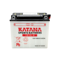 Katana YB16L-B Motorcycle Battery