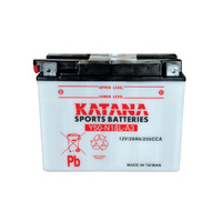 Katana Y50-N18L-A Motorcycle Battery
