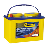Century Hi Performance NS70L 580ccA Commercial Battery
