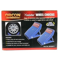 Compact Foldable Wheel Chocks (Pair)