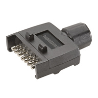 Trailer 7 Pin Flat Male Plug
