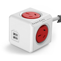 Power Cube USB - Red
