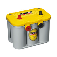 Optima D34/78 Yellow Top 12v 750ccA Spiralcell AGM Lead Acid Battery