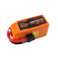 Dinogy Ultra Graphene 2.0 18.5v 5s 1300mah 80c Lipo Battery