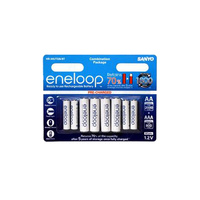 Panasonic Eneloop AA and AAA Battery Family Pack
