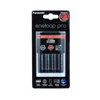 Sanyo Eneloop Pro AA and AAA 4hr Fast Charger Combo