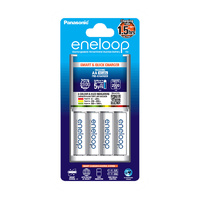 Sanyo Eneloop AA and AAA 3hr Fast Charger Combo