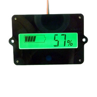 Universal Backlit LCD Lithium and Lead Acid Battery Fuel Gauge