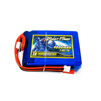 Giant Power Spektrum DX8 7.4v Transmitter Battery 4000mah