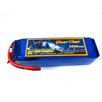 Giant Power 6s 22.2v 5000mah 65c