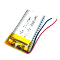 Generic 3.7v 320mah Lipo Battery for Mobile Devices