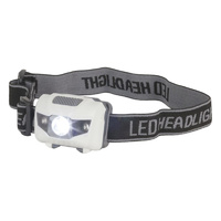 LED 3w White and Red Economical Head Torch