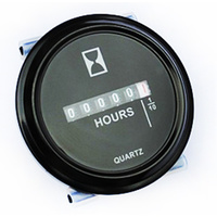 Waterproof Panel Mount Hour Meter 6-80v DC