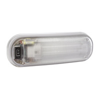 Fluorescent 12v 13w Interior Lamp With On/Off/Door Switch
