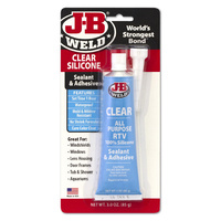 J-B Weld Clear All Purpose RTV Silicon 85g
